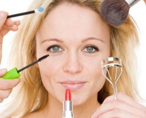 Сделать макияж вшопе на