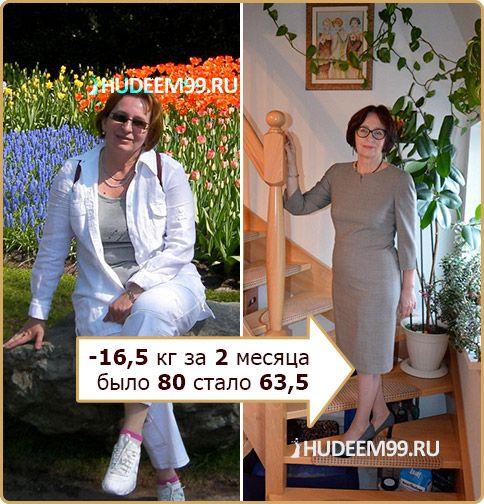Татьяна Эхлиг - до и после похудения