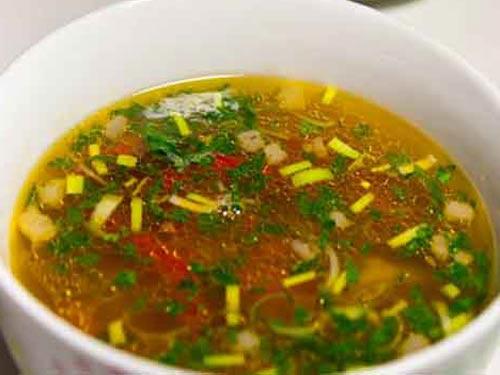 Суп на похудении